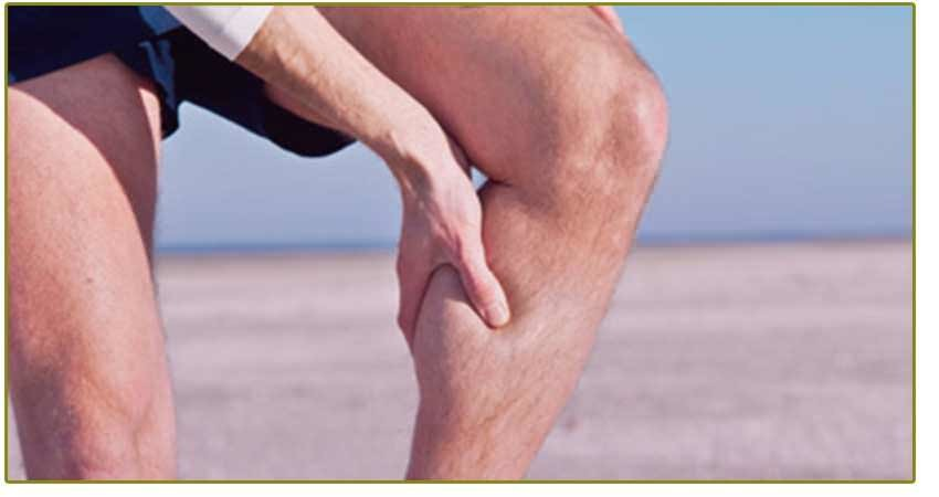 DVT deep vein thrombosis beach man pain