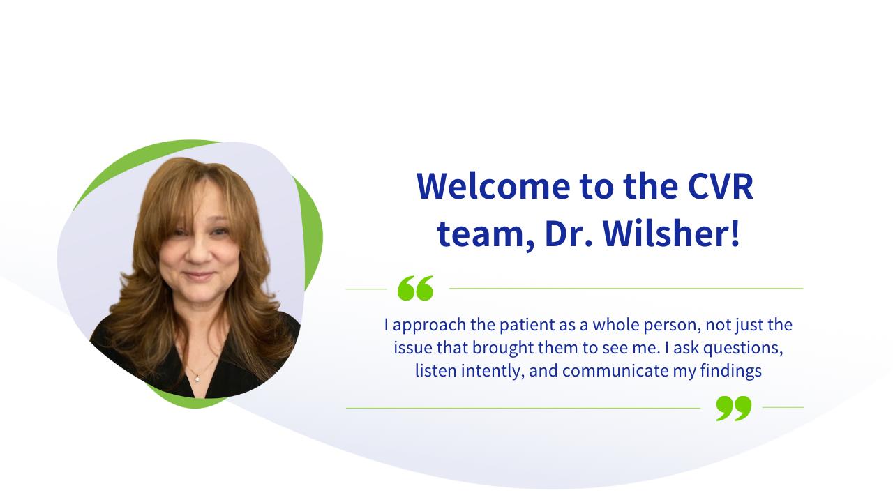 Dr Wilsher Blog 1