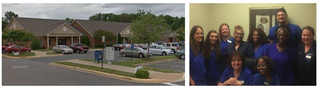 Fredericksburg Center for Vein Restoration Location and Team