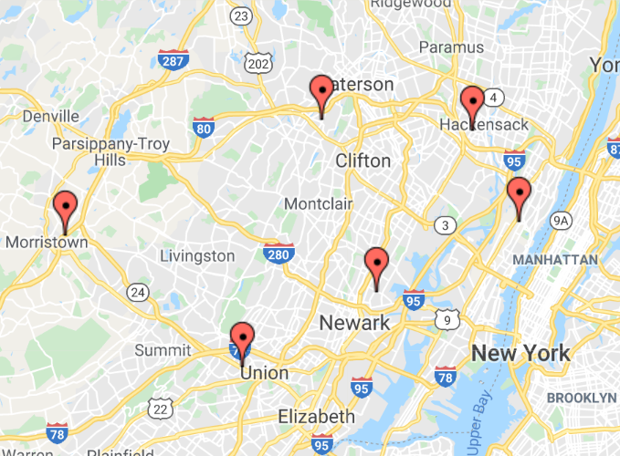 New Jersey Greenbelt Center for Vein Restoration Google Maps