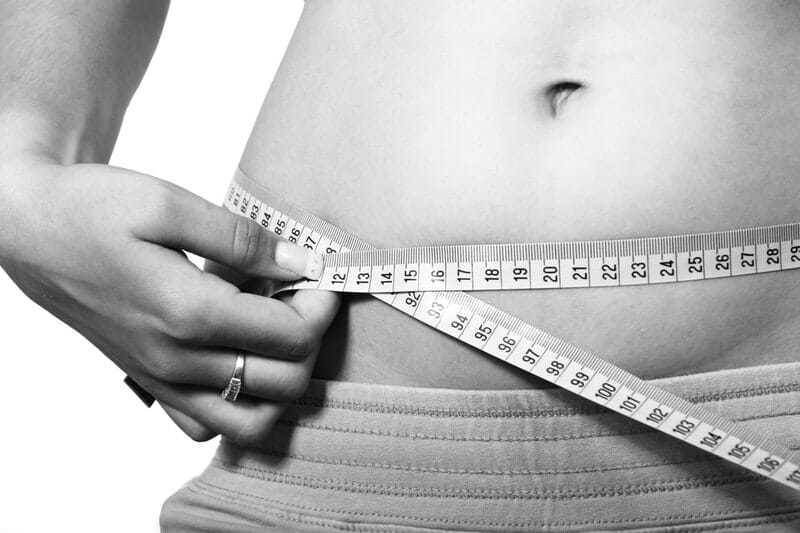 Abdomen cuerpo calorías dieta e impacto en la piel vena