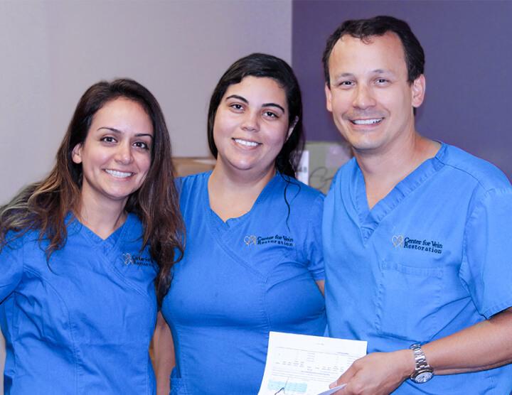 Oportunidades de trabajo en el equipo médico del CVR