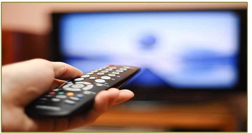 TV y efecto a distancia sobre la piel